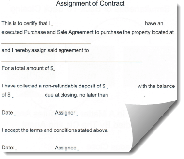 Use this agreement when closing on a house.