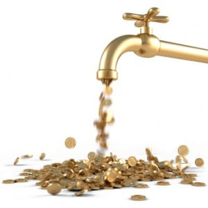 Everything bubble stimulus faucet